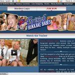 British Bukkake Babes Real Passwords