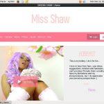 Sheenashaw.com Join Page