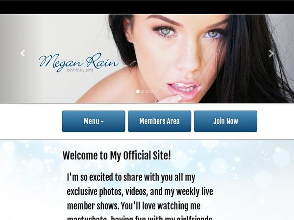 Megan Rain Account Trial