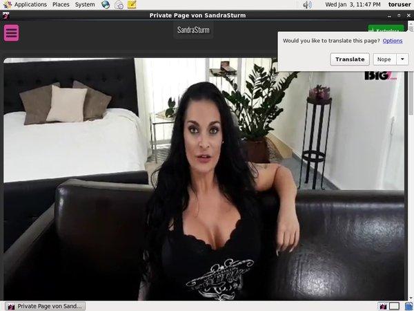 SandraSturm.com Register Free