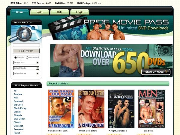 Pride Movie Pass Mail Order